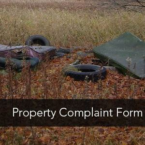Image Link to Property Complaint Form
