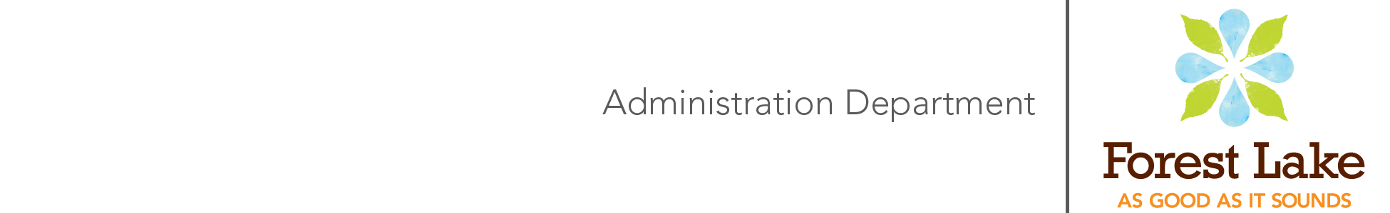 Image of Adminstration Letterhead